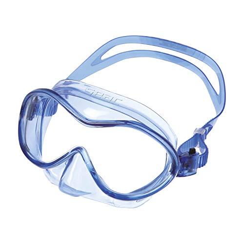 SEAC Unisex– Babys Baia Kid Tauchmaske für Kinder von 3 bis 8 Jahren, ideal zum Schnorcheln und Spielen am Meer, türkis, 3-6