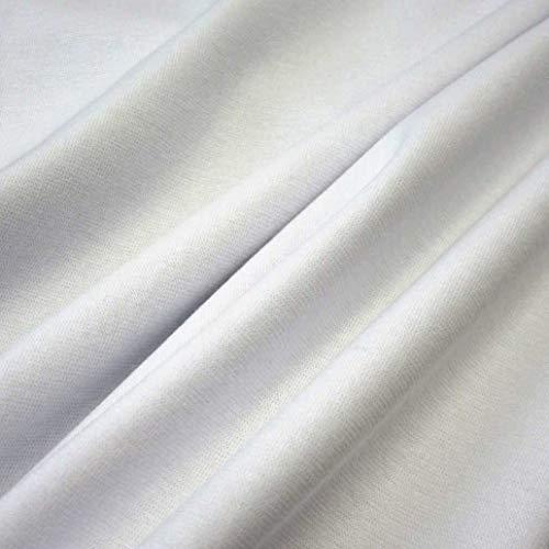Werthers Stoffe Stoff Meterware Bündchen Bündchenstoff Schlauchware Jersey weiß Bündchen Weiss