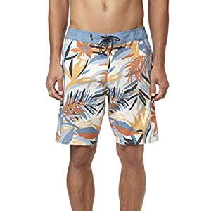 O'NEILL Men's Hyperfreak Boardshort 19 Inch Outseam (Bone/Patron, 40)