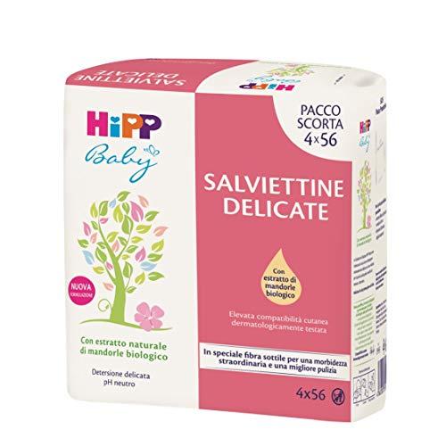 Hipp Baby - Salviettine Delicate Per Neonati, Soffici E Morbide, Pelli Normali, 3 Confezioni Multipack - 14693.54 ml