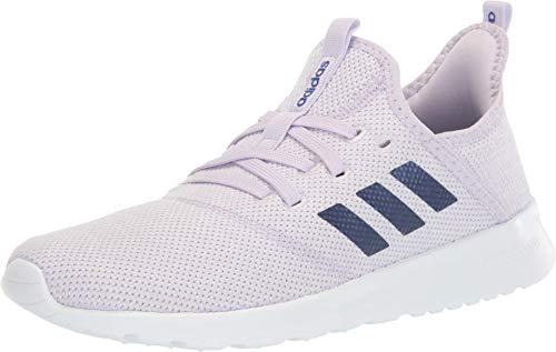 adidas Cloudfoam Pure, Zapatillas para Mujer, Tinte púrpura/Azul Met./FTWR Blanco, 44 2/3 EU