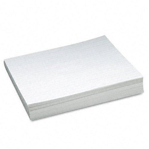 Pacon : Ruled Newsprint Practice Paper w/Skip Space, 2nd Grade, White, 500 Sheets/Ream -:- Sold as 2 Packs of - 500 - / - Total of 1000 Each