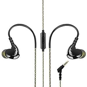 【Calidad de sonido clara】: El tubo de graves y el micrófono de alta sensibilidad le permiten obtener una calidad de sonido realista. 【Un control clave】: Presione el botón una vez para contestar / colgar el teléfono / reproducir / pausar música. Presi...