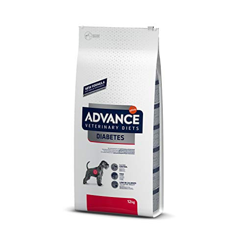 Advance Veterinary Diets Diabetes - Pienso para Perros diabéticos o con Colitis - 12 kg