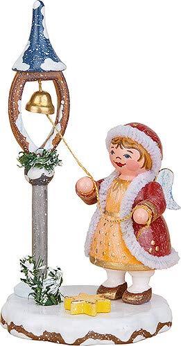 "Hubrig Volkskunst Winterkinder Himmelskind ""Weihnachtsglöckchen"" - 6,5 cm"