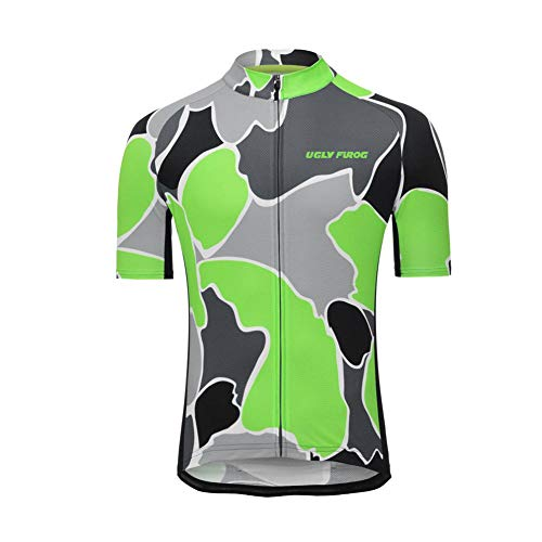 Uglyfrog Men's Cycling Jersey Mountain Bike Jerseys for Men Bicycle Shirt Tops Clothing