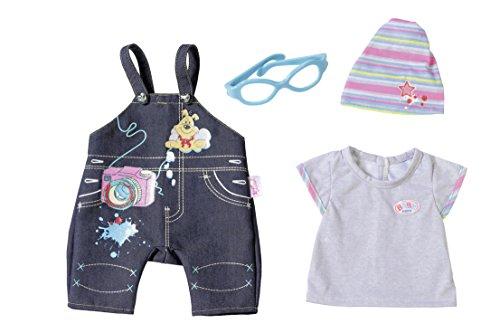 Zapf Creation 823033–Baby Born Deluxe Jeans Colección, Peto