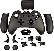 OSTENT Replacement Case Shell & Buttons Kit Compatible for Microsoft Xbox One Wireless Controller - Color Black