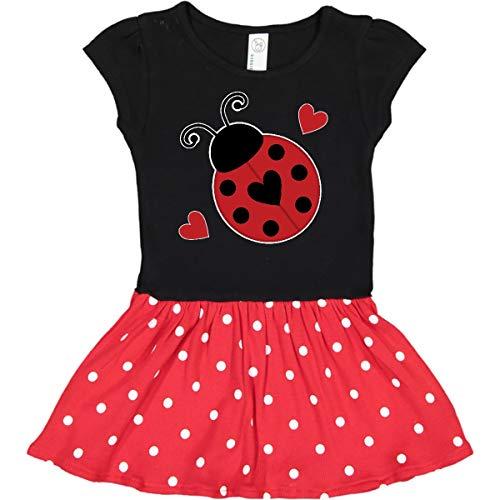 inktastic Ladybug Lover Red Infant Dress 24 Months Black & Red with Polka Dots