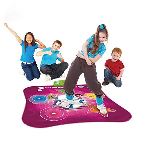 X&JJ Tapis de Danse Dynamique, Piano Tapis Tapis de Jeu Tapis Instrument Portable Jouet avec Haut-Parleur Cadeau éducatif pour Enfants Bambin Filles garçons