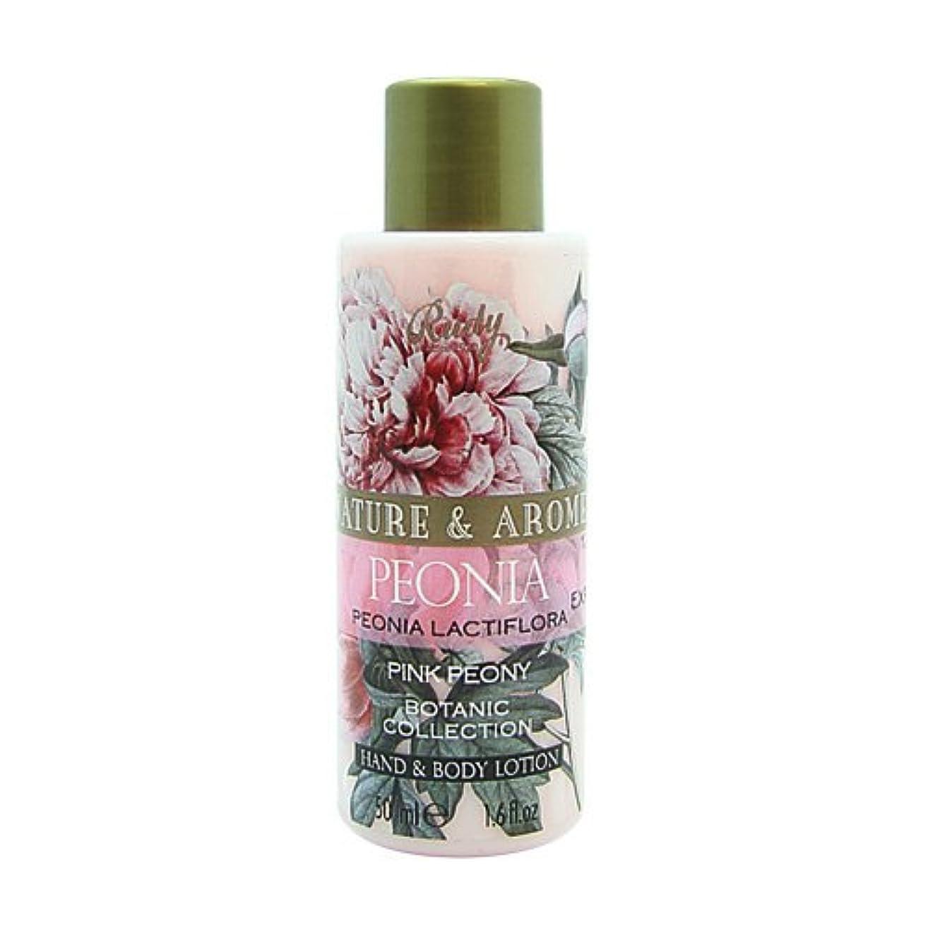 比率弾力性のある履歴書RUDY Nature&Arome SERIES ルディ ナチュール&アロマ Mini Body lotion ミニボディローション ピンクピオニー