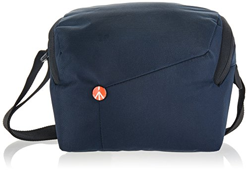Manfrotto MB NX-SB-IBU Shoulder Bag for CSC with Additional Lens (Blue)