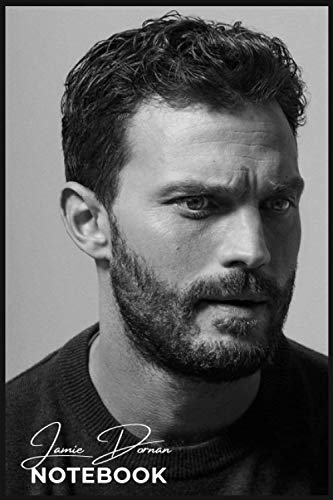 Jamie Dornan Notebook Journal - Diary Perfect for School, Home & Office - Great for Christmas / Birthday Gifts 6' x 9' inches ,: Soft Matte Cover and 110 Premium Paper, ideal Gift