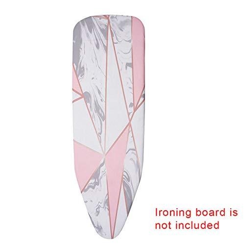 LJQLXJ Tabla de planchar Marmoleado Tabla de planchar Cubierta Protectora Prensa Plegable de hierro para planchar Protector de tela Proteger prendas delicadas, 2