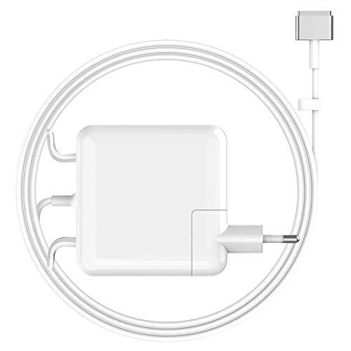 Ywcking Compatible con Mac Book Air, cargador magnético T de 45 W, compatible con Mac Air de 11 pulgadas y 13 pulgadas mediados de 2012, 2013, 2014, 2015, 2017, modelos A1465 y A1466.