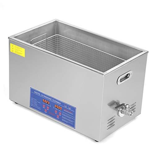 Labor Reinigungsartikel220V 30L Protable Edelstahl Digital Ultraschallreiniger Ultra Sonic Reinigungsmaschine Beheizt
