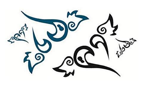 Tijdelijke tattoo stickers tijdelijke corpotattoo stickervel voor - vrouw stickers
