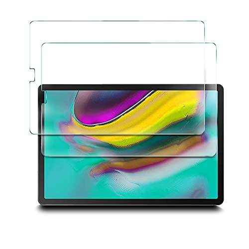 IVSO Pellicola Protettiva per Samsung Galaxy Tab S5e 2019 10.5, Pellicola Protettiva Schermo in Vetro Temperato per Samsung Galaxy Tab S5e 10.5 T720 T725 2019, 2 Pack