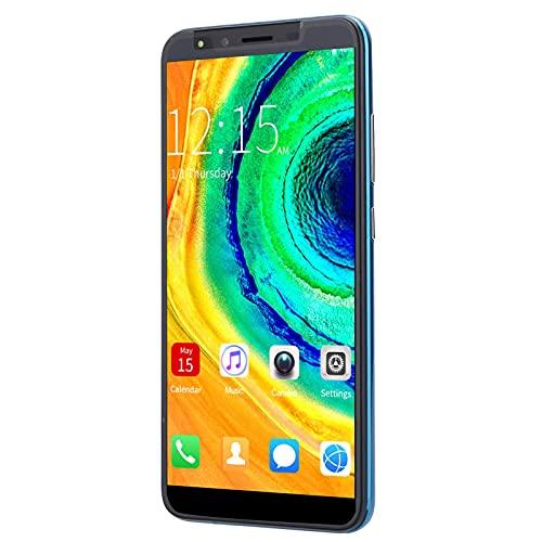 Smartphone 5.8in con pantalla FHD, teléfono celular dual SIM sin conexión Los teléfonos inteligentes admiten llamadas globales, cámara dual frontal y trasera, multimedia, libros electrónicos, grabació