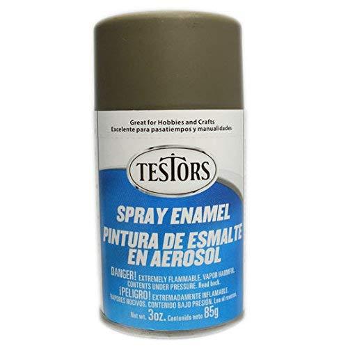 Testor Corp. Flat Army Olive Enamel Paint 3oz Spray Can