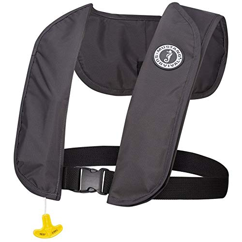 Mustang Survival MIT 70 Inflatable PFD - Automatic (One Size/Admiral Grey) MD403
