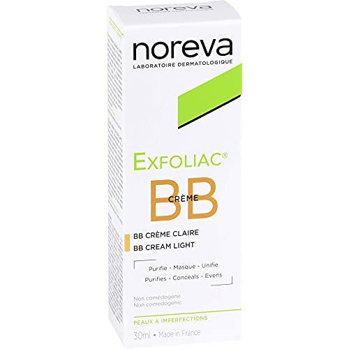 noreva Exfoliac getönte BB-Creme hell, 30 ml Creme