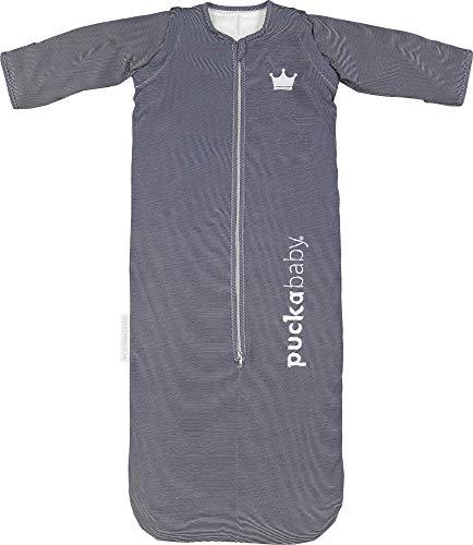 Baby/Kinderschlafsack Puckababy - Bag 4 Seasons - 6 Monate/2.5 J   100 cm - Blue Stripe