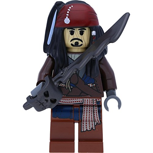 LEGO Pirates of The Caribbean Minifigur: Captain Jack Sparrow Voodoo (Fluch der Karibik)
