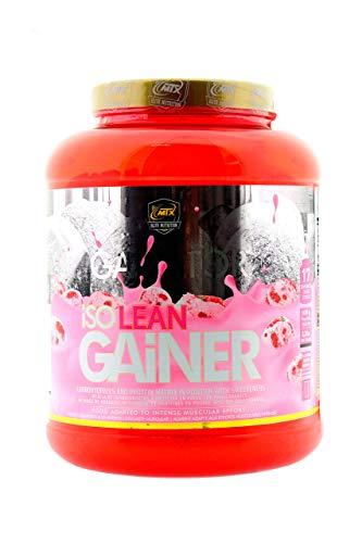ISO LEAN GAINER (Ganator) 1,5 Kg. Fresa - Matriz para la Ganancia de Peso Muscular, Sustituto de Comidas o Post-Entreno