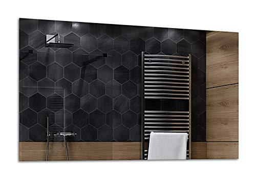 ALASTA® Espejo | Espejo Premium Grandes de Pared | Diferentes tamaños del Espejo | Dubai | Espejo LED de Pared | Altavoz Bluetooth - Seleccione Tipo