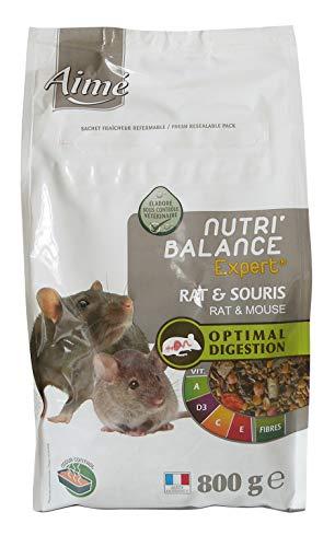 AIME Aliment complet Rat et Souris, NUTRI'BALANCE...