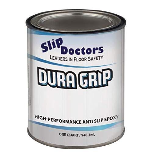 SlipDoctors DuraGrip (Black, Quart) Non-Slip Paint