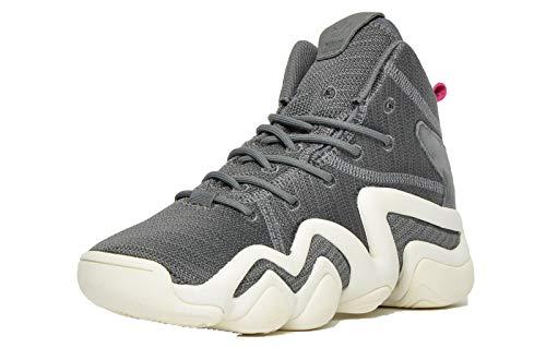 Adidas Originals Crazy 8 ADV Mujer Zapatillas Deporte Altas Gris Carbón/Blanco 37.5