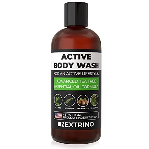Tea Tree Oil Body Wash - USA Made Liquid Shower Gel...