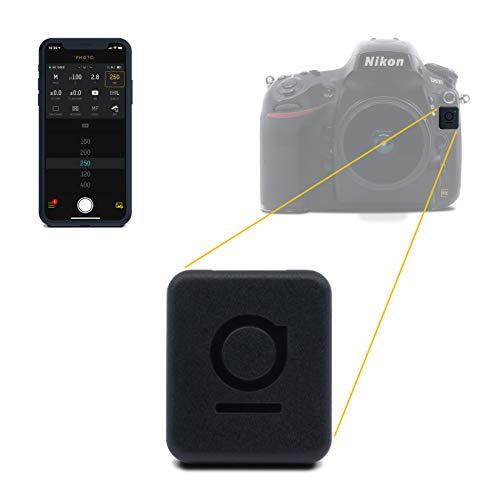 UNLEASHED – Bluetooth Fernsteuerung für Nikon (Komplette Steuerung via App, Fernauslöser, Timelapse, Langzeitbelichtung, Geotagging, Video) Modell N1 für Nikon Pro-Kameras mit Mini-USB