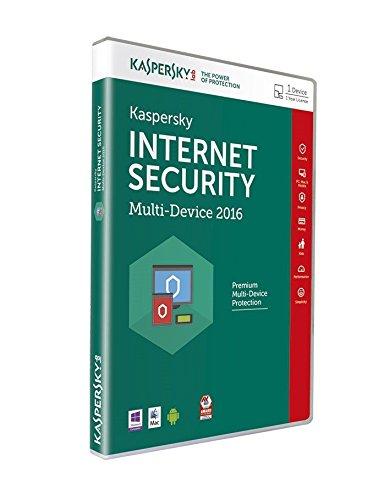Kaspersky - Internet Security 2016 (1 Appareils, 1 An)
