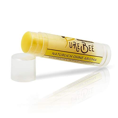 Lippenbalsam mit Bienenwachs & Propolis Ohne Aroma | Natürliche Lippenpflege handgemacht in...
