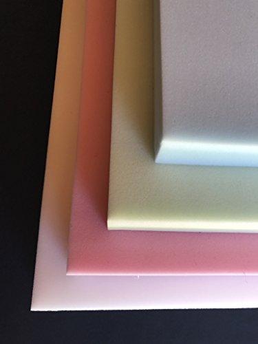 SCM Lot de 4 plaques de Mousse 50x50x3