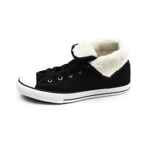 Converse Chuck Taylor All Stars Super Winter Weatherized Kids Shoes - Black...