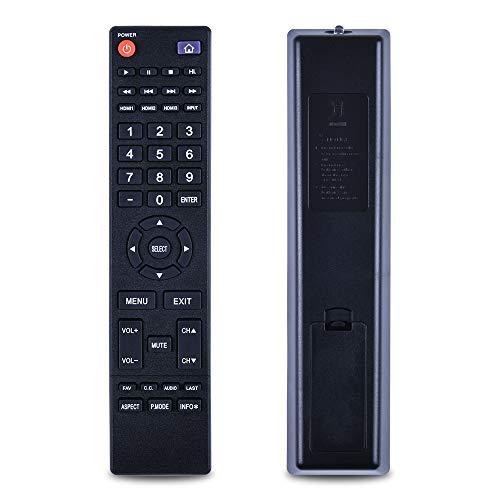 New Replacement Remote Control 850125633, Suitable for Hitachi LED LCD TV:LE49A509 LE49A6R9 LE50A3 LE50A6R9 LE50A6R9A LE55A6R9 LE55A6R9A LE24C109