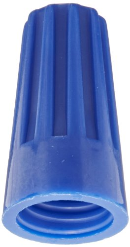 Easy-Twist Twist-On Wire Connector, Standard Type, 22-14 AWG Wire Range, 300V, Blue (Bag of 1000)