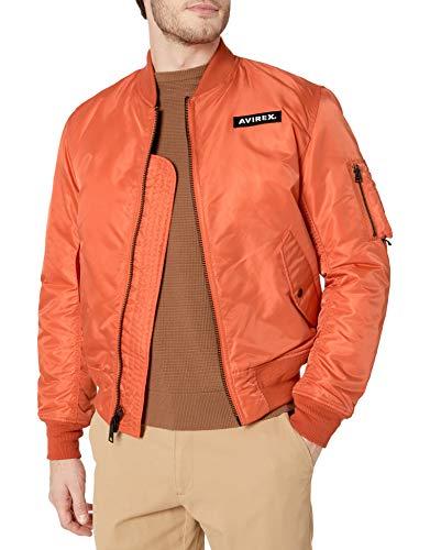 Avirex Herren AVF19BO01-SAFETY Jacke, Safety Orange, Large