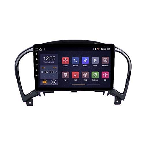Autoradio Stereo Android 8.1 Navigatore GPS da per Nissan Juke 2010-2014 con Canbus 9' Dvd Player Supporto Bluetooth Mirror Link Controllo del Volante