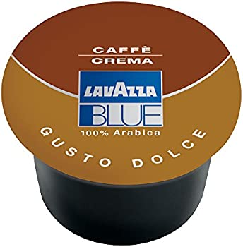 100-Pack Lavazza BLUE Capsules Caffe Crema Dolce Coffee Blend