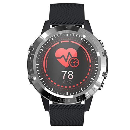 HQPCAHL Smartwatch, Reloj Inteligente Impermeable IP68 con Monitor De Sueño Pulsómetros Cronómetros Contador De Caloría, Pulsera De Actividad Inteligente para Hombre Mujer con iOS Y Android,C