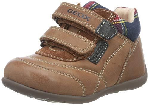 Geox Baby-Jungen B Kaytan A First Walker Shoe, (Brandy), 24 EU
