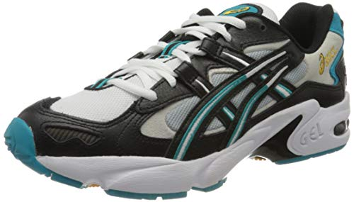 Asics Gel-Kayano 5 OG, Zapatillas de Running Unisexo, Negro/Blanco, 40 EU