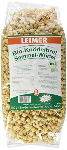 Leimer Bio-Semmelwürfel - Knödelbrot, 750 g
