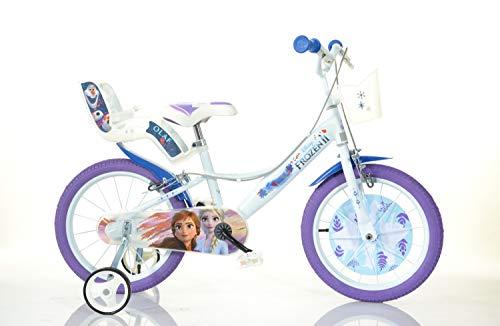 Dino Bikes Bicicletta Disney Frozen 16 Pollici