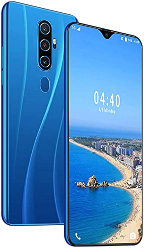 WWJ Android 10 telefones, câmeras de 13 MP + 24 MP, Smartphone, Tela de 6,7